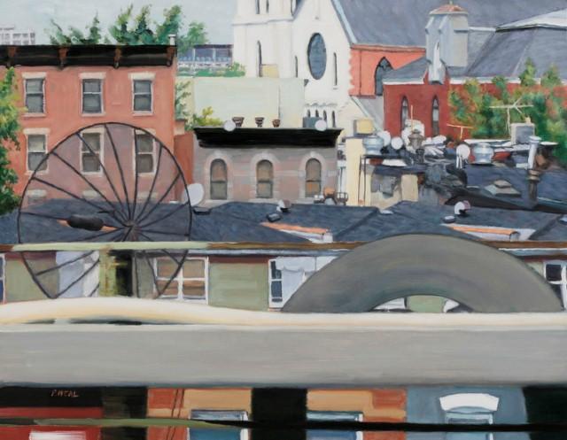 Городской пейзаж. Patty Neal 12