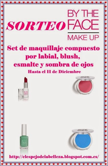 Sorteo By the face make up en El espejo de la belleza!