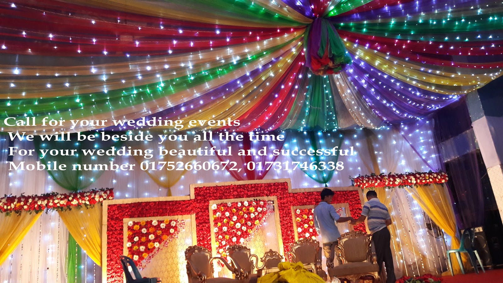Ceiling pandal decor wedding management thecheapjerseys Choice Image