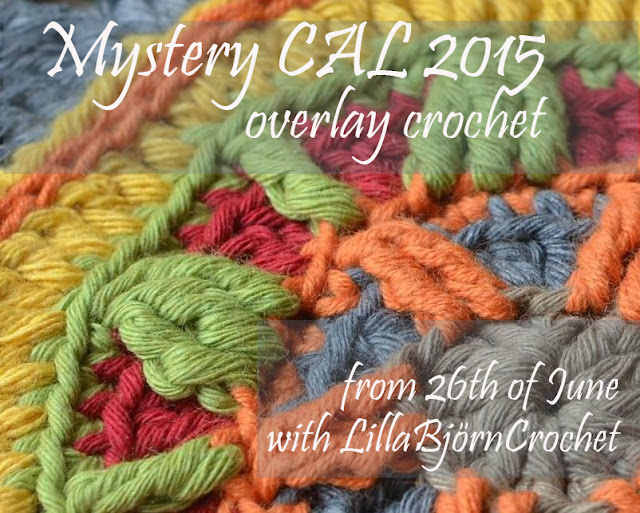 Mystery CAL 2015 in overlay crochet with LillaBjornCrochet