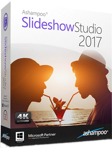 Ashampoo Slideshow Studio 2017 1.0 portable poster box cover
