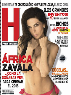 Revista H para Hombres Mexico -Diciembre 2016 PDF Digital