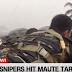 LOOK: Bulagta ang Maute Member ng Tirahin ng Military Sniper Sa Kasagsagan ng Ulan