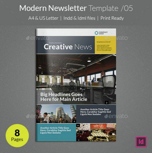 7. Modern Newsletter Template v05
