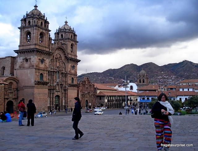 Cusco, Peru: Praça de Armas e Igreja dos Jesuítas