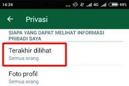 Trik Semoga Terlihat Offline Di Whatsapp