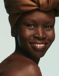 Supermodel Alek Wek is a famous member of the Dinka tribe
