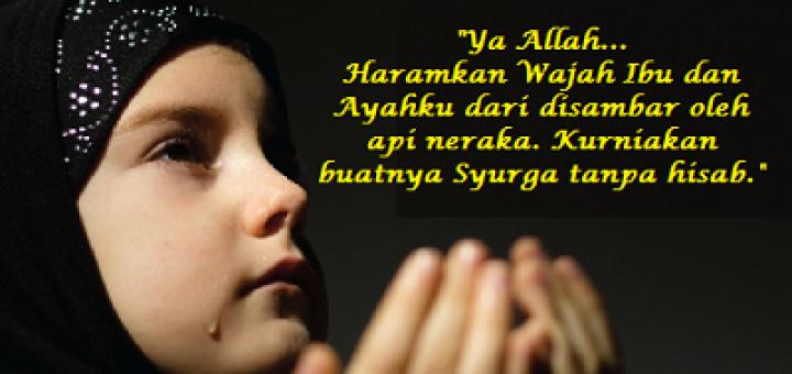 Seberapa Berkah Doa Anak Sholeh Apabila Kita Sudah