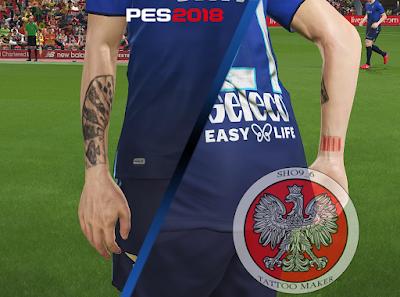 PES 2018 KS Tattoopack Sergej Milinkovic-Savic