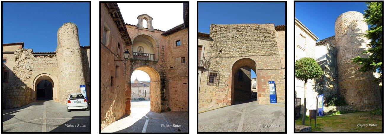 Puertas y Cubos de la muralla de Sigüenza
