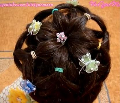 Peinado Facil Para Nina Con Ligas De Colores Tutorial De Peinados