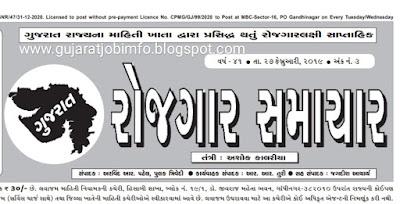 Download Gujarat Rojgar samachar (PDF) Date: 27-02-2019