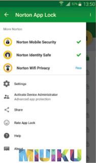 norton app lock - daftar app lock android