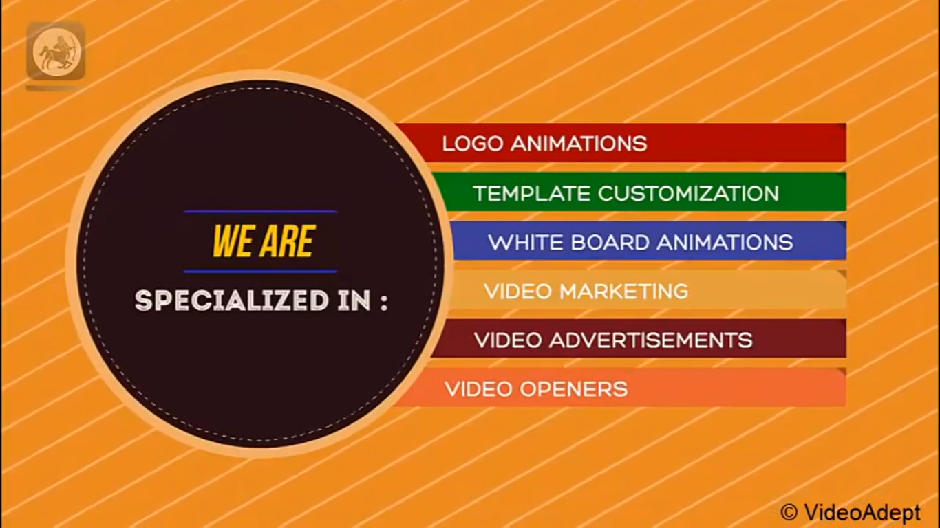 Want To Create A Promotional Video Messages For Your Users Awesome Logo Animations Business Meet Videoadept Professional After