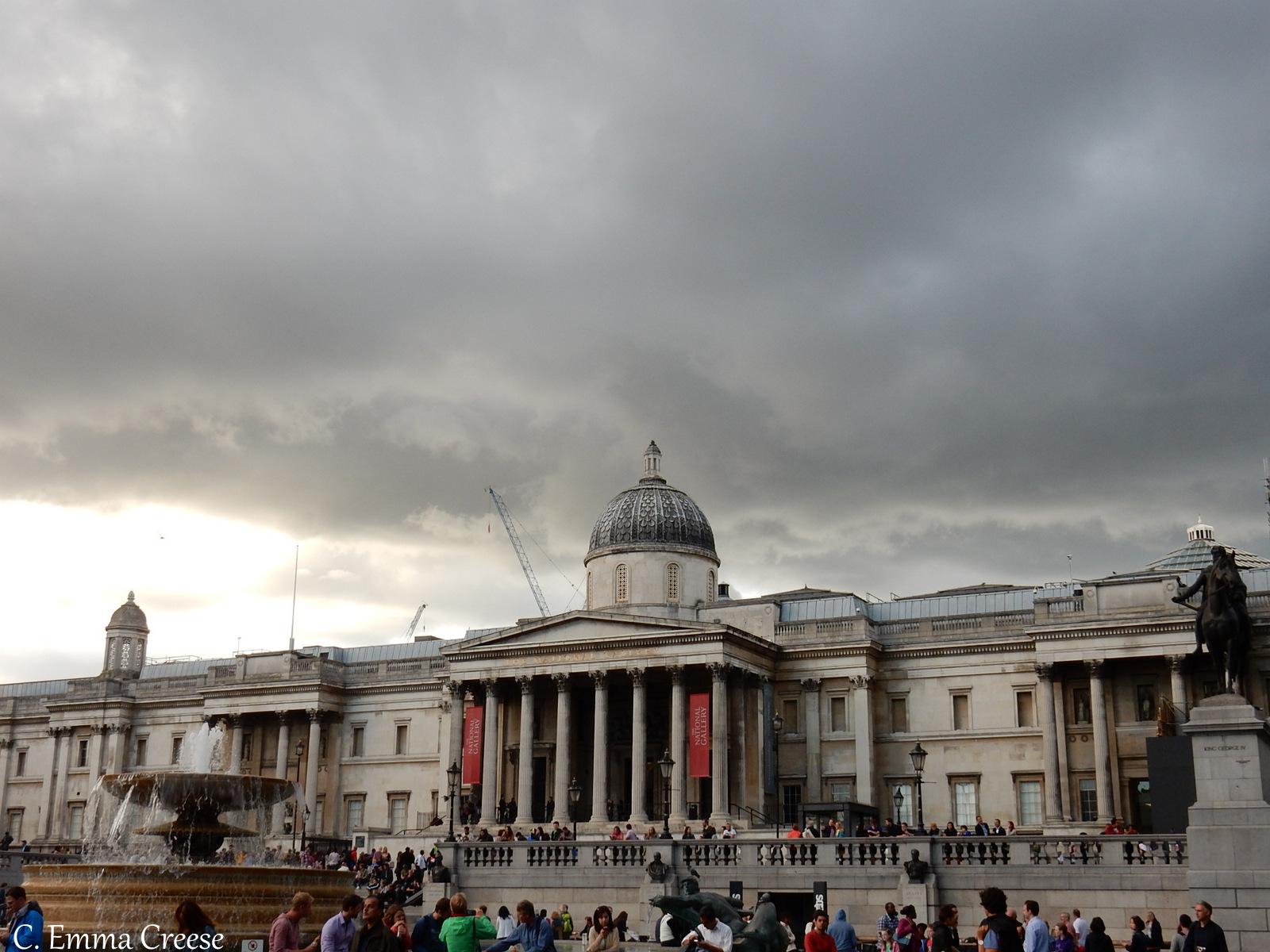 Trafalgar Square London National Gallery