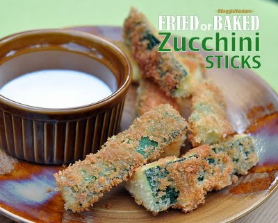 Fried (or Baked) Zucchini Sticks