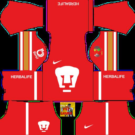 Uniformes club am rica 2017 2018 dls by fut gamer for Cuarto kit del america 2018