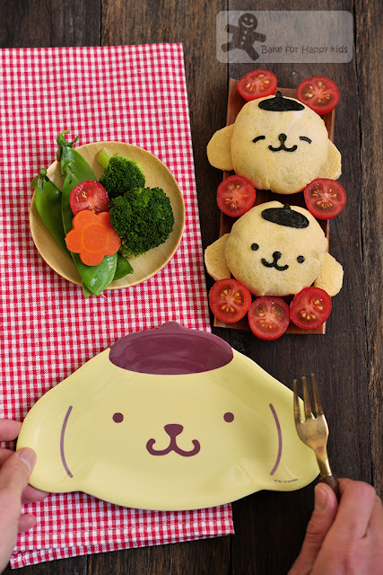 pompompurin pom pom purin rice ball