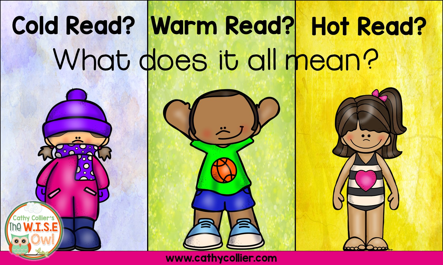 Cold Read Warm Read Hot Read What Does It All Mean