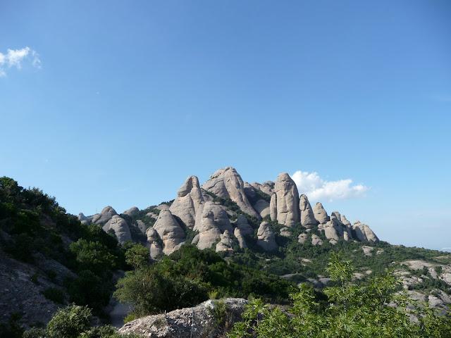 Вершины горы Монсеррат