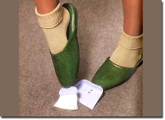 Invenções Bizarras - Sapatilhas de Limpeza