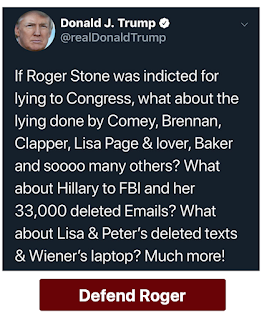 I just got email from Roger Stone with the subject line  about my arrest... .