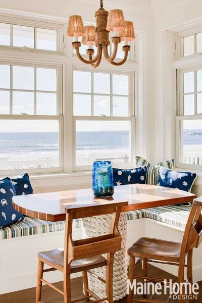nautical rope decor kitchen table