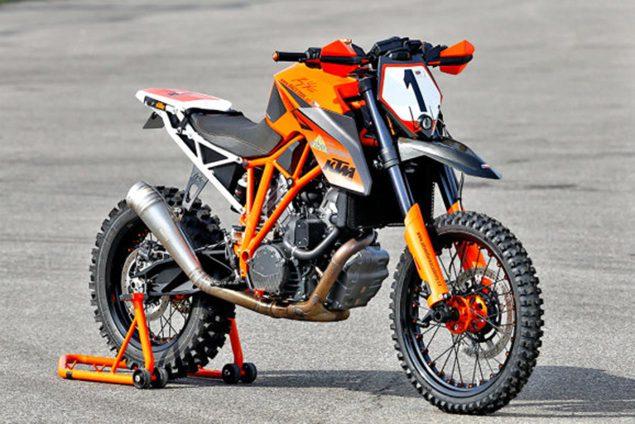 project ktm 690 enduro r: 2015