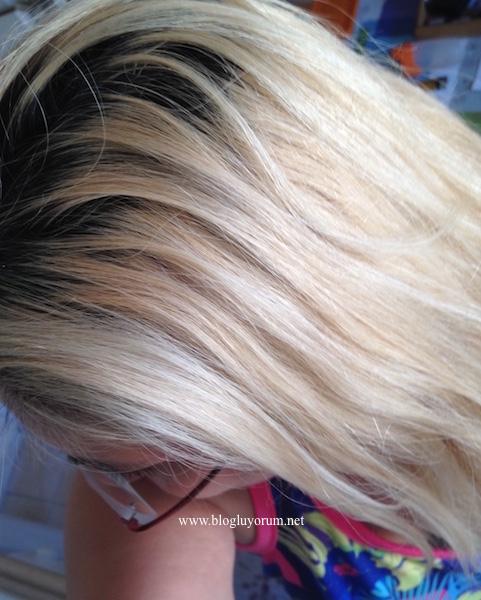 palette deluxe 6-70 kahve bakır saç boyasıyla boyamadan önce