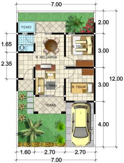 harga rumah sederhana bebas ppn terbaru bersubsdi - model