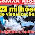 Blog Agmar Rios ultrapassa a marca de 42 milhões de visualizações