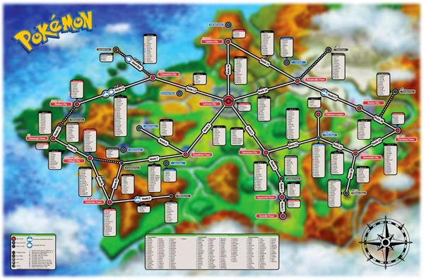 Pokemon X & Y Pokemon Locations by Route Image 2