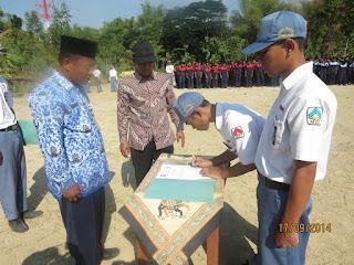 Pelantikan OSIS 2014/2015 SMK Sakti Gemolong