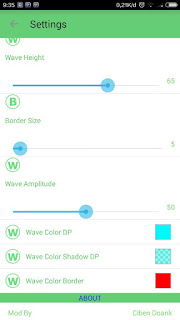 BBM Mod SpyLock Green Theme V3.0.1.25 Apk4