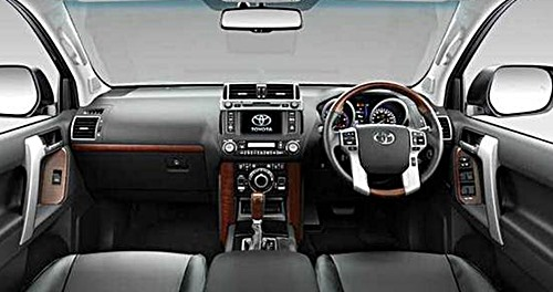 2017 Toyota Land Cruiser Space Canada