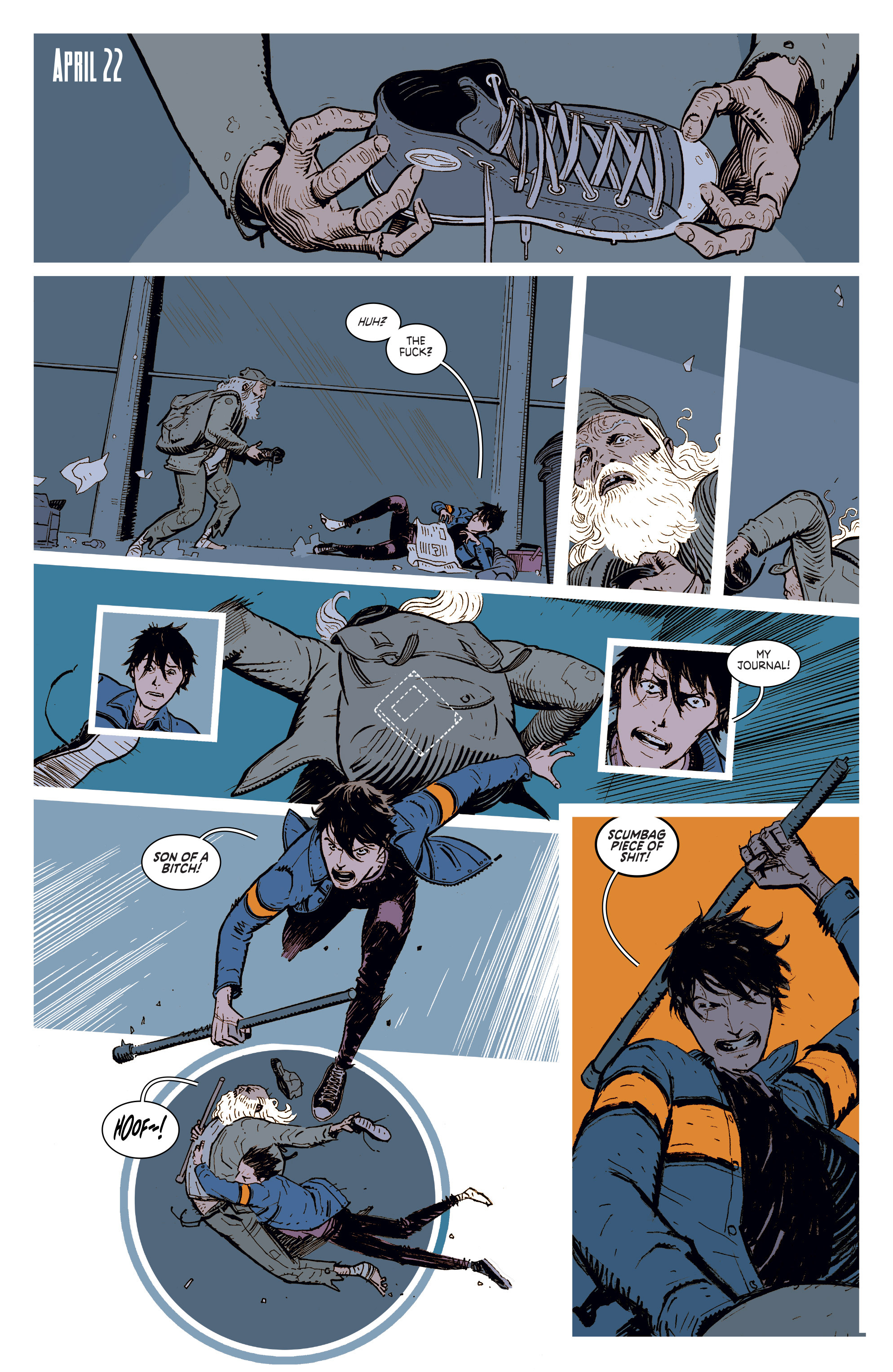 Read online Deadly Class comic -  Issue #1 - 7