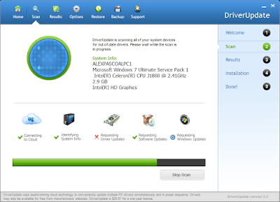 DRIVERUPDATE 2.2 + SERIAL