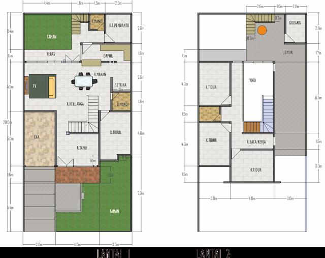 Desain Rumah Minimalis 10 X 20 Gambar Foto Desain Rumah