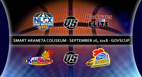 List of PBA Game(s): September 26 at Smart Araneta Coliseum 2018 PBA Governors' Cup