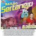 Cd (Mixado) Dj Fabrício Incomparável Sertanejo Vol:05