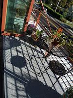 Greatmats grey outdoor patio tile balcony