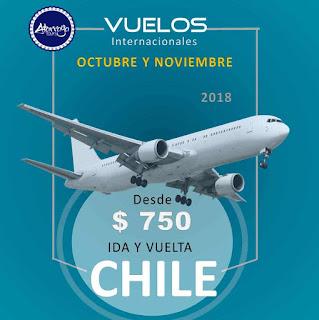 imagen Chile vuelo desde Caracas