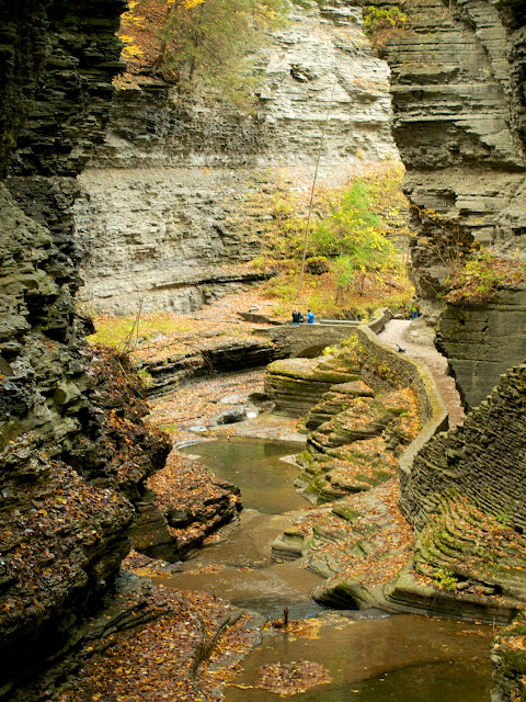 El Glen Creek y Glen Trail, Watkins Glen