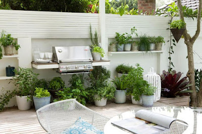 Easy Garden Ideas using Potted Plant