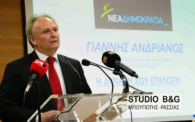 Ανδριανός στη Βουλή: Άμεση καταγραφή των ζημιών από τον πρόσφατο καύσωνα στην παραγωγή μανταρινιών στην Αργολίδα