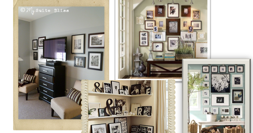My Suite Bliss Diy Gallery Wall