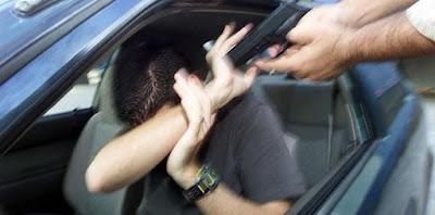 Alagoinhas: Motorista é roubado e fica dez horas em poder de assaltantes