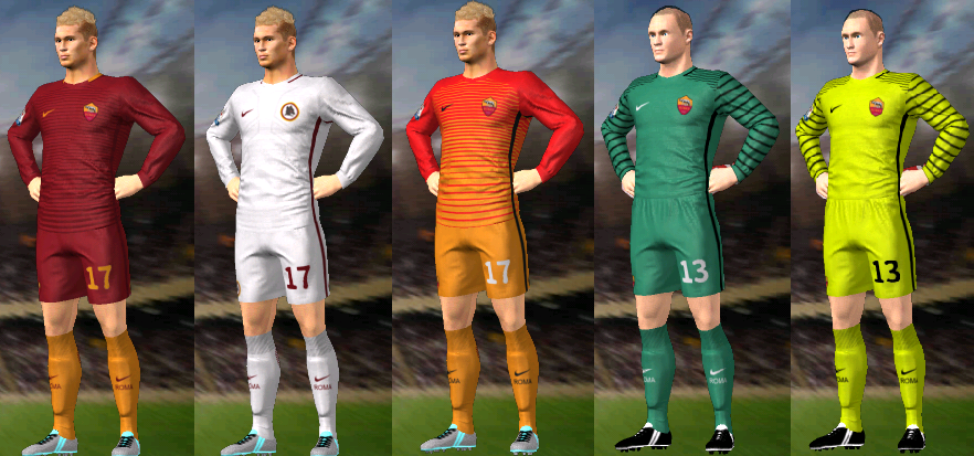 Kits/Uniformes Para FTS 15 Y Dream League Soccer: Kits