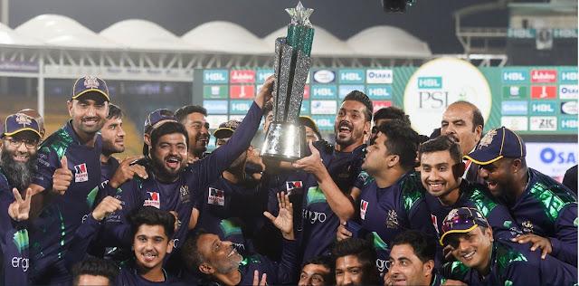 Quetta Gladiators, PSL's new champion