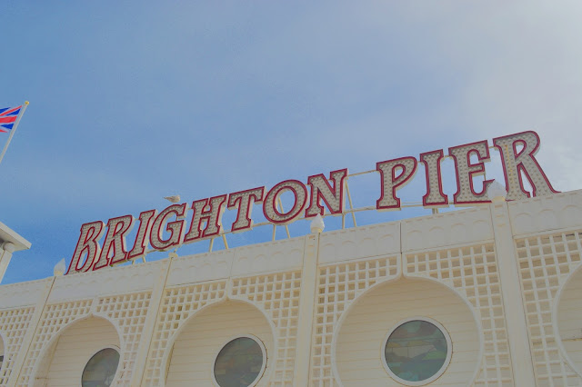 Brighton Pier neon light